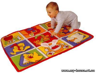 Коврик для малышей развивающий своими руками